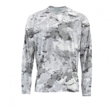 Marškinėliai Solarflex Prints hoody Simms su kapišonu 13