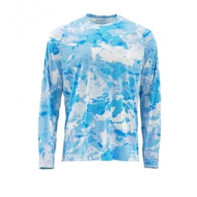 Marškinėliai Solarflex Prints hoody Simms su kapišonu 15