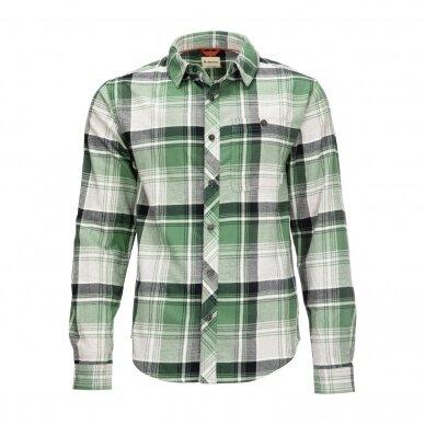 Firminiai Simms Marškiniai Dockwear Cotton Flannel 2021 jau prekyboje 15