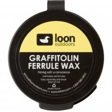 Grafitinis tepalas spiningui Grafitolin Ferrule Wax Loon USA