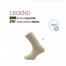Kojinės Legend made in Spain 100% Merino iki -15C