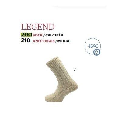 Kojinės Legend made in Spain 100% Merino iki -15C