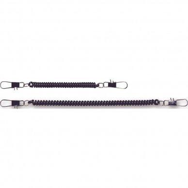 Laikiklis retraktorius komplektas 2vnt.Curl cord set C&F design japan