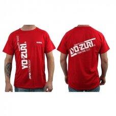 Marškinėliai Yo-zuri raudoni