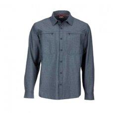 Marškiniai Prewett stretch woven carbon Simms 2020
