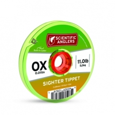 PavadėlisTricolor Sighter tipet 0x 0.28mm green/white/orange Scientific Angler