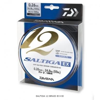 Pintas valas Daiwa Saltiga EX+SI 12 gijų made in Japan