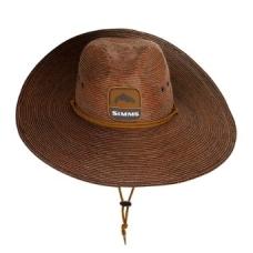 Skrybėlė šiaudinė vasarinė Cutbank sun hat Simms 2020