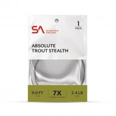 Pavadėlis Absolute trout stealth leader Scientific Angler USA