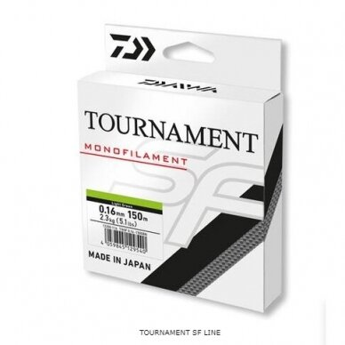 Valas monofilamentinis Daiwa Tournament SF made in Japan 2021