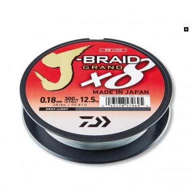 Valas pintas Daiwa J-braid Grand X8 made in Japan 2018 2
