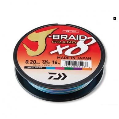 Valas pintas Daiwa J-braid Grand X8 made in Japan 2018 3
