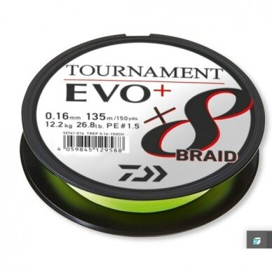 Valas pintas Daiwa Tournament 8 EVO+ 135m made in Japan 2021 3
