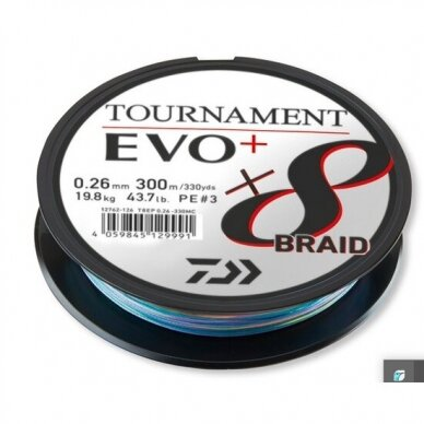 Valas pintas Daiwa Tournament 8 EVO+ 135m made in Japan 2021 5