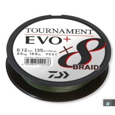 Valas pintas Daiwa Tournament 8 EVO+ 135m made in Japan 2021 4