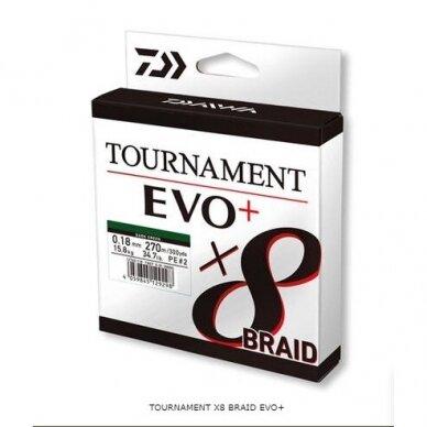 Valas pintas Daiwa Tournament 8 EVO+ 135m made in Japan 2021