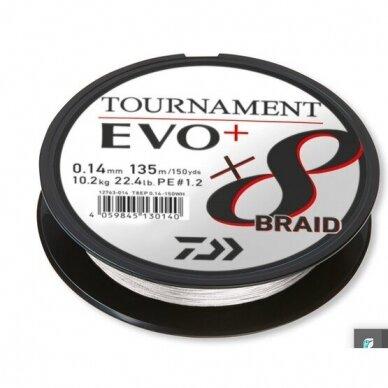 Valas pintas Daiwa Tournament 8 EVO+ 135m made in Japan 2021 2