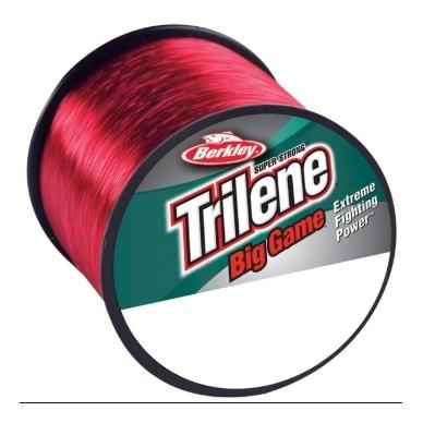 Valas Trilene Big game troling 600m 0.45mm 12,5kg raudonas