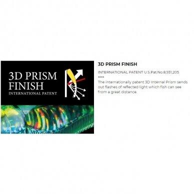 Vobleris Yo-Zuri CRYSTAL® 3D minnow deep diver F1153 6